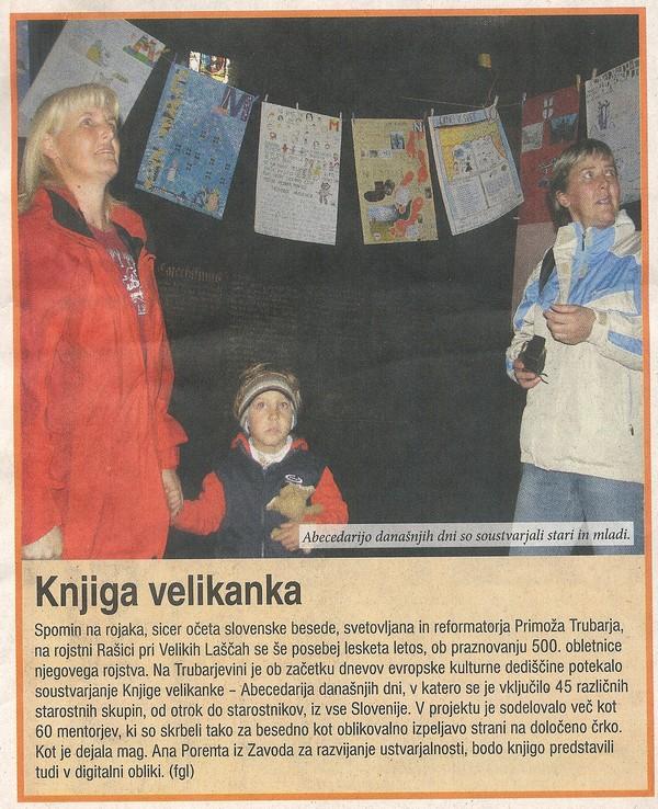 Slovenski tednik, 26. 09. 2008